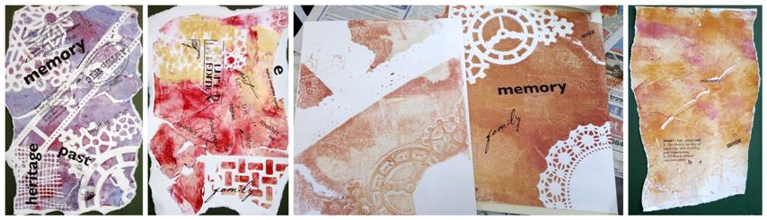 In Memory of WWI - Artjournal Covers