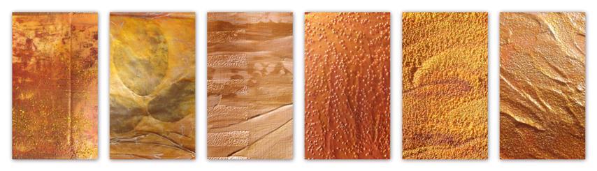 Examples of Acrylic & Mixed Media (Copyright @ 2010 Midge)