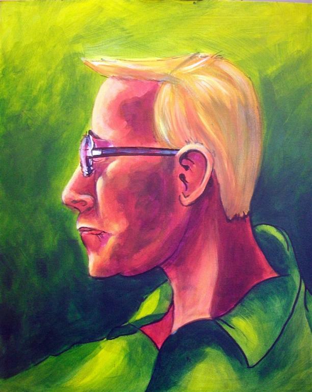 Bobbie (demo painting by Midge)