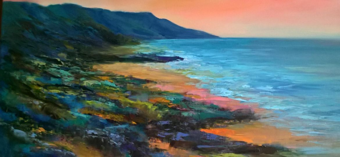 Seascape in Oils by Midge (Demo)
