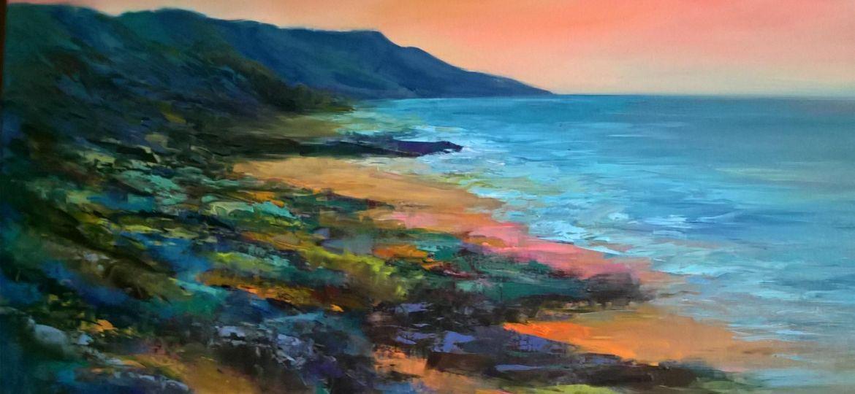 Seascape in Oils by Midge (Demo)