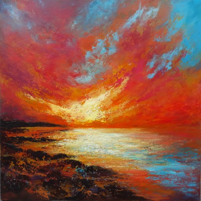Burning Skies (SOLD)