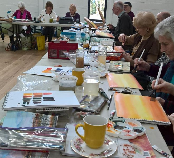 Hale Art Group at work