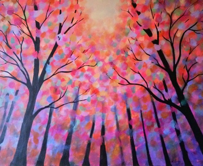 Rainbow Forest (SOLD)